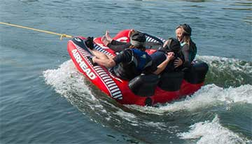 Revitalise guests on accessible water-skiing excursion