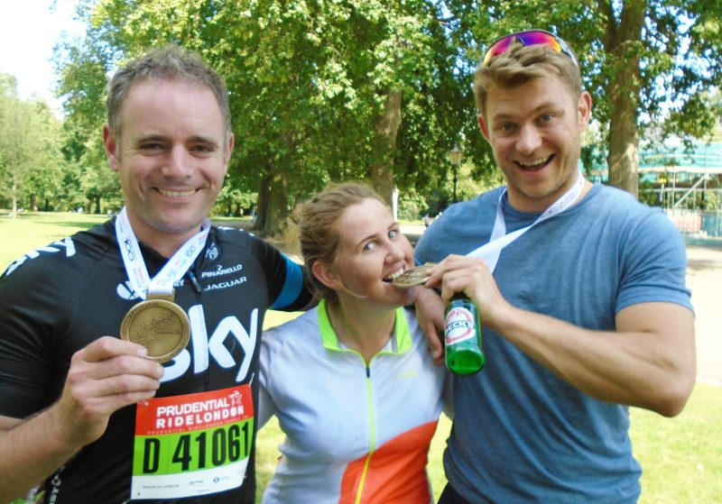 Ride London 2015 riders for Revitalise