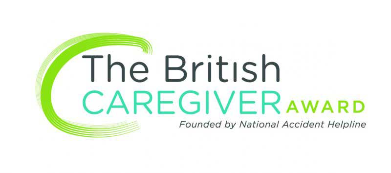 National Accident Helpline British Caregiver Awards logo