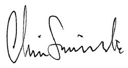 Chris Simmonds SIGNATURE